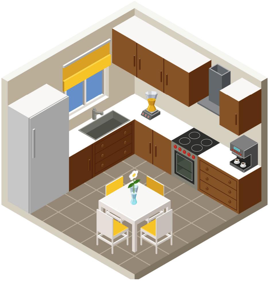 kitchen maket