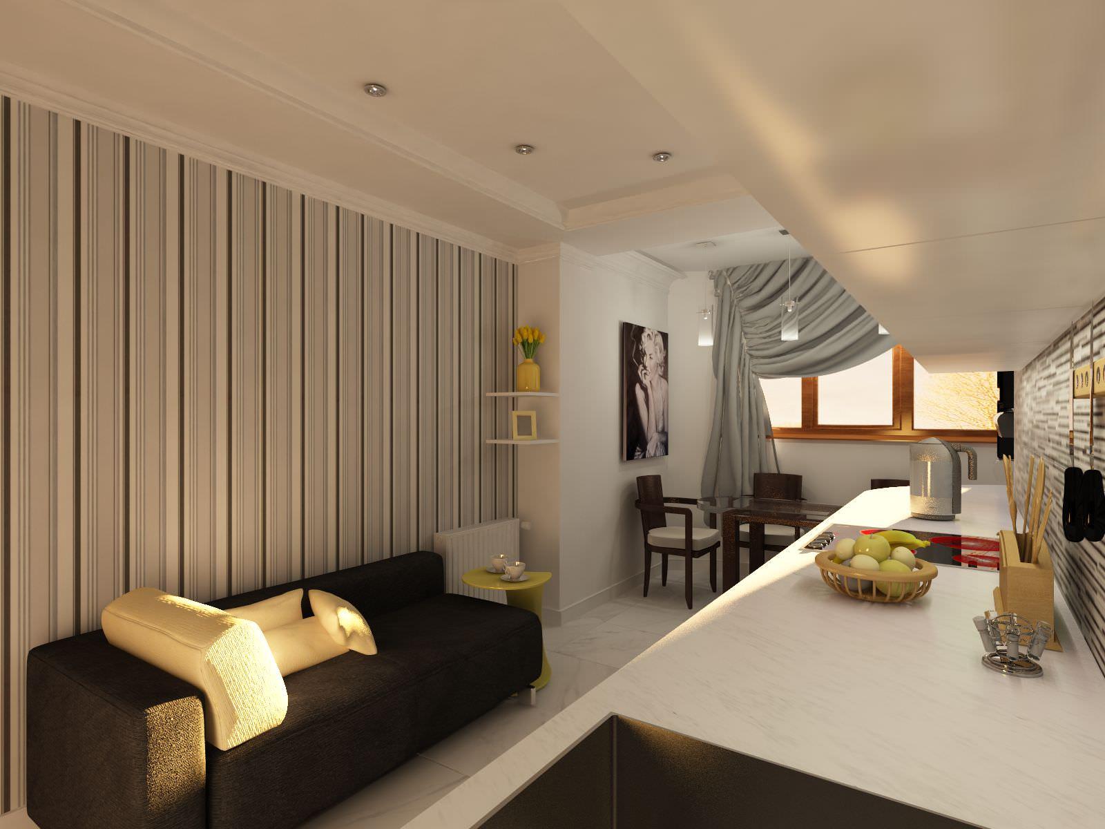 Дизайн комнат с низкими потолками