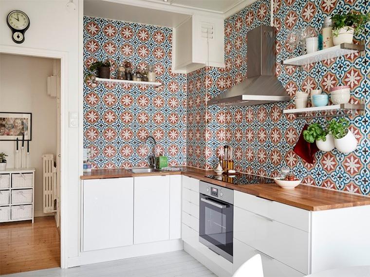 Марокканский стиль в интерьере кухни