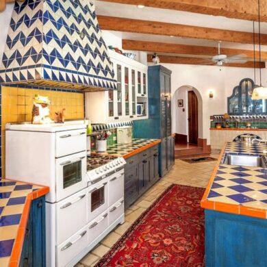 Мексиканский стиль в интерьере кухни