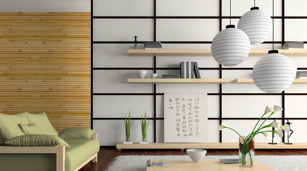 Стиль Японский в квартире хрущевке гостиная
