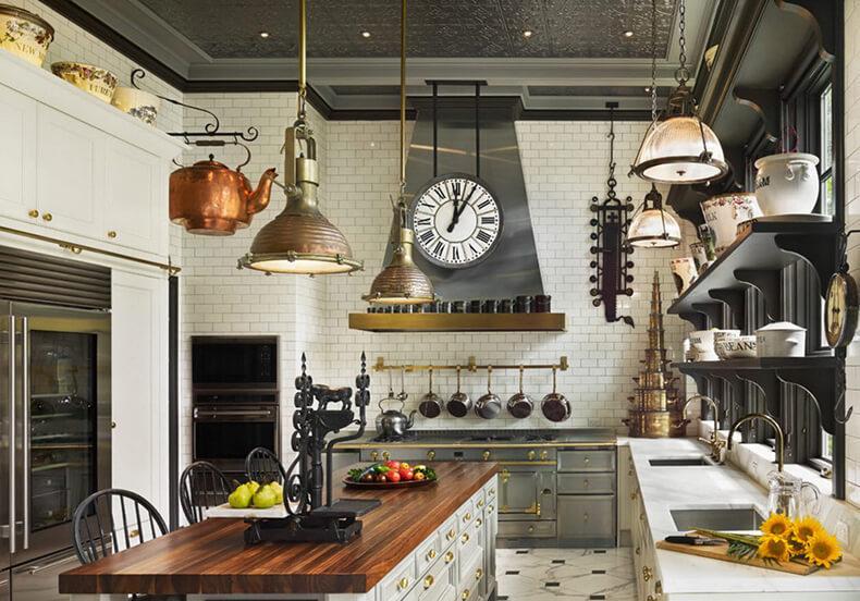 дизайн кухни английский стиль