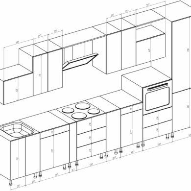 План однолинейной кухни – Однолинейная форма планировки
