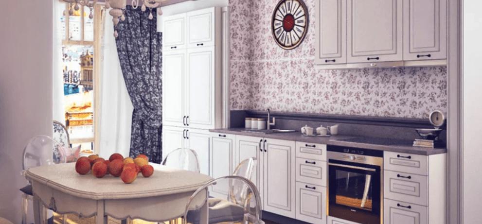 Стиль Романтизм в хрущевке кухня