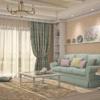 Стиль Романтизм в хрущевке гостиная