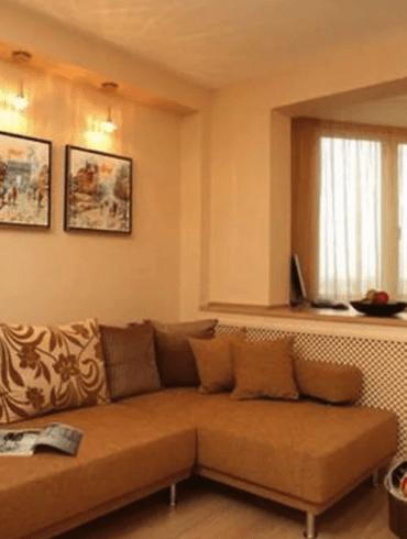 Для малогабаритных квартир этот вариант подходит как нельзя лучше, поскольку позволяет получить дополнительную жилую площадь. Однако такая перепланировка сопряжена с серьезными трудностями.
