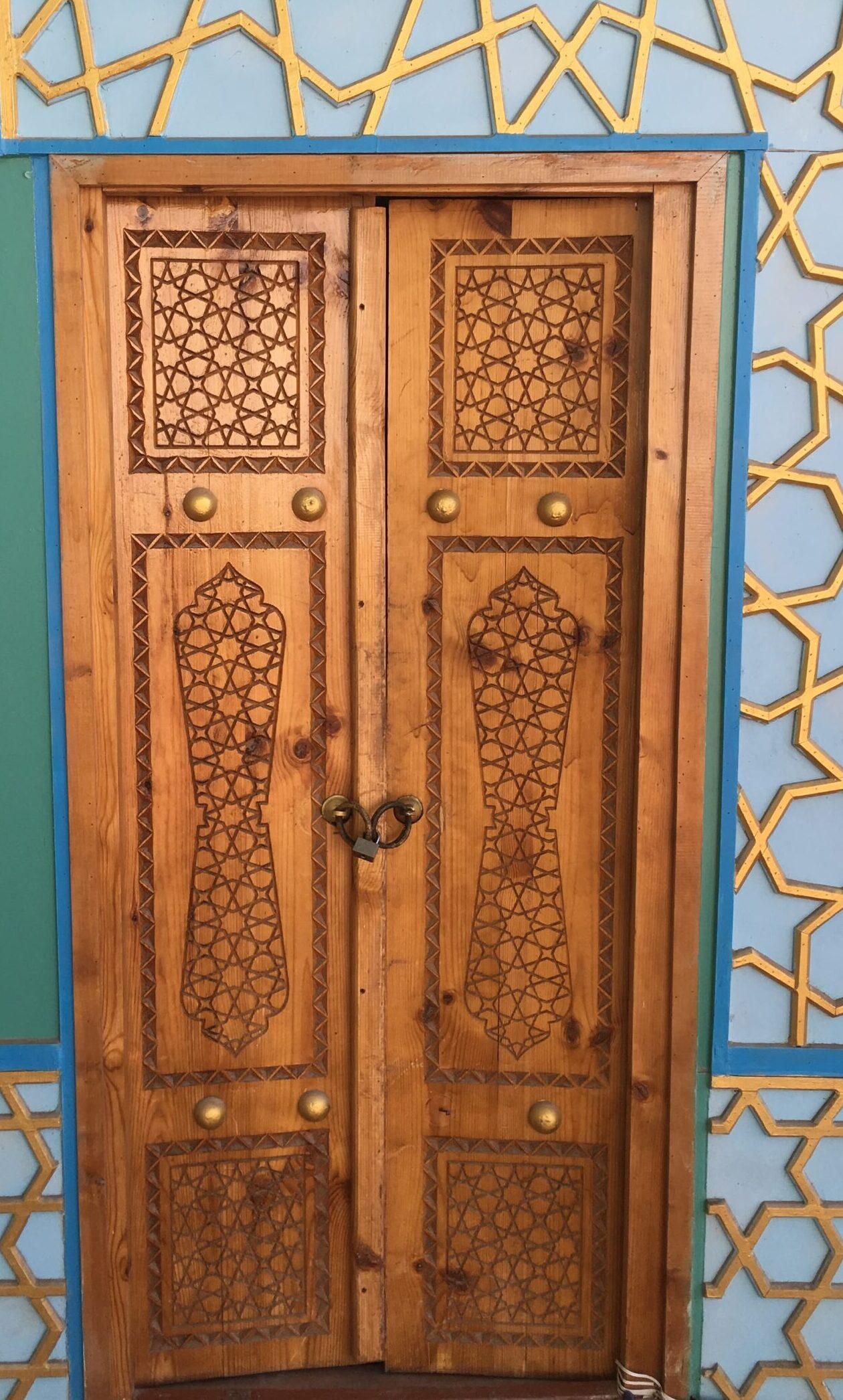 восточная дверь - сделай дом сам