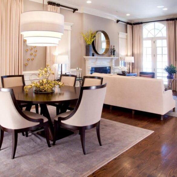 Гостиная-столовая одной комнате