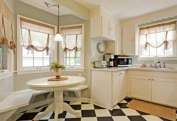 Чем закрыть окна на кухне. Окна на кухне шторы