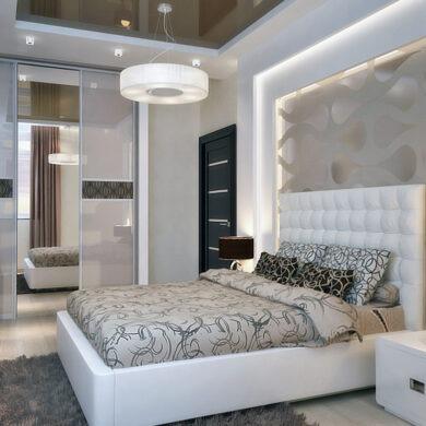 Спальня в стиле современный русский модерн