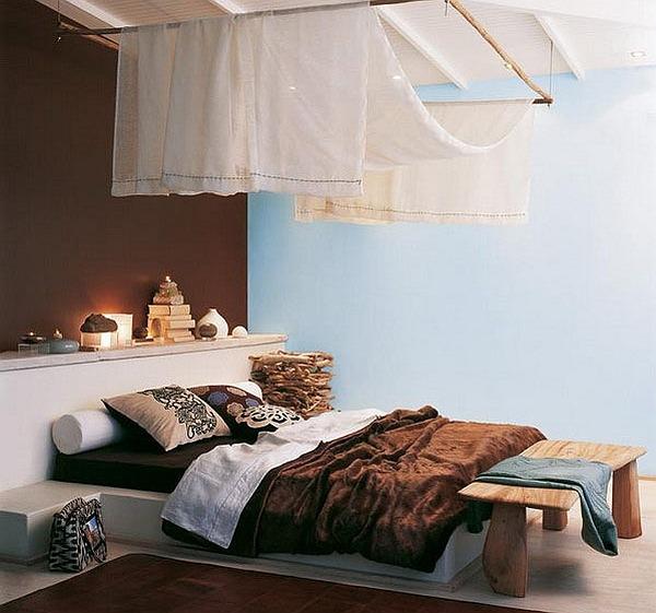Спальня в африканском стиле Сафари