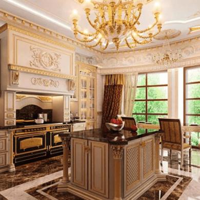 Кухня в стиле классицизм