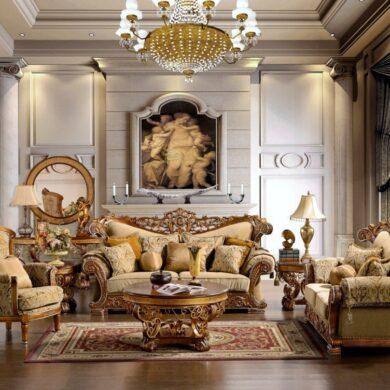 Гостиная в стиле классицизм